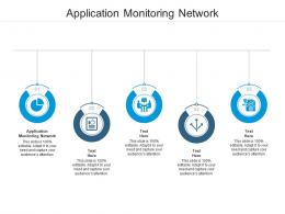 Application Monitoring Network Ppt Powerpoint Presentation Icon Format Cpb