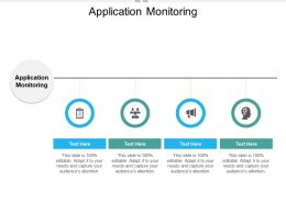 Application Monitoring Ppt Powerpoint Presentation Pictures Gallery Cpb