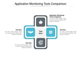 Application Monitoring Tools Comparison Ppt Powerpoint Presentation Summary Elements Cpb