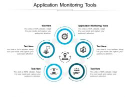 Application Monitoring Tools Ppt Powerpoint Presentation Pictures Inspiration Cpb