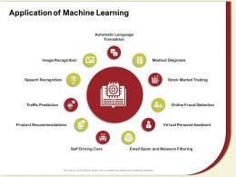 Application Of Machine Learning Driving Cars Ppt Powerpoint Presentation File Styles