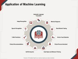 Application Of Machine Learning Malware Filtering Ppt Powerpoint Presentation File Ideas