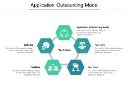 Application Outsourcing Model Ppt Powerpoint Summary Backgrounds Cpb
