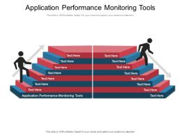 Application Performance Monitoring Tools Ppt Powerpoint Presentation Summary Cpb