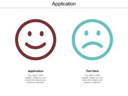 Application Ppt Powerpoint Presentation Icon Graphics Download Cpb