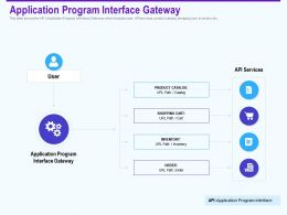 Application Program Interface Gateway Inventory Ppt Powerpoint Model