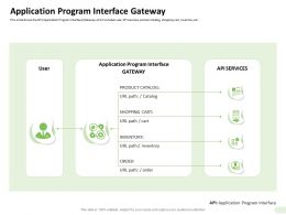Application Program Interface Gateway Inventory Ppt Professional