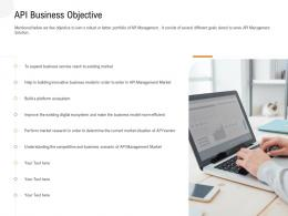 Application Programming Interfaces Overview API Business Objective Ppt Powerpoint Good