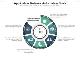 Application Release Automation Tools Ppt Powerpoint Presentation File Icon Cpb