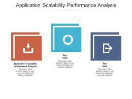 Application Scalability Performance Analysis Ppt Powerpoint Presentation Inspiration Designs Cpb