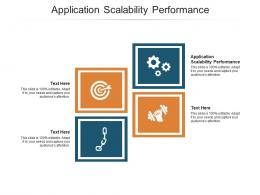 Application Scalability Performance Ppt Powerpoint Presentation Infographic Template Portrait Cpb