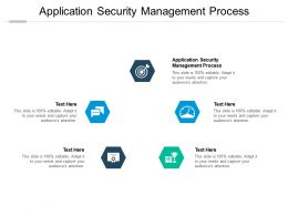 Application Security Management Process Ppt Powerpoint Presentation Guide Cpb
