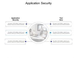 Application Security Ppt Powerpoint Presentation Slides Graphic Images Cpb