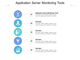 Application Server Monitoring Tools Ppt Powerpoint Presentation Layouts Skills Cpb