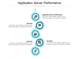 Application Server Performance Ppt Powerpoint Presentation File Model Cpb