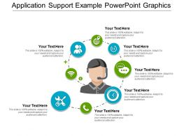 Application Support Example Powerpoint Graphics