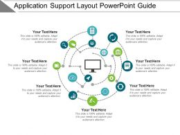 Application Support Layout Powerpoint Guide
