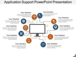 Application Support Powerpoint Presentation