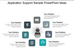 Application Support Sample PowerPoint Ideas