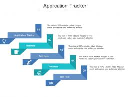 Application Tracker Ppt Powerpoint Presentation Model Summary Cpb