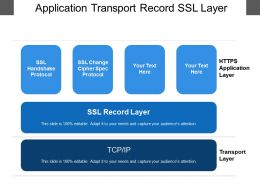Application Transport Record Ssl Layer
