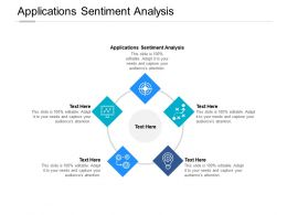 Applications Sentiment Analysis Ppt Powerpoint Presentation Gallery Structure Cpb