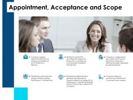 Appointment Acceptance And Scope Ppt Powerpoint Example