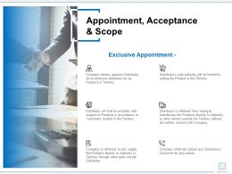 Appointment Acceptance And Scope Ppt Powerpoint Layouts