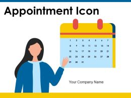 Appointment Icon Employee Marketing Business Documents