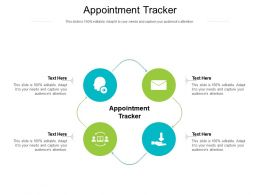 Appointment Tracker Ppt Powerpoint Presentation Ideas Format Ideas Cpb