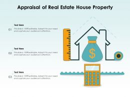 Appraisal Of Real Estate House Property
