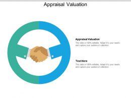 Appraisal Valuation Ppt Powerpoint Presentation Layouts Design Ideas Cpb