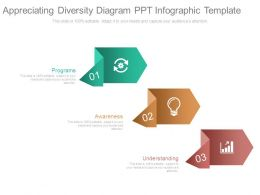 Appreciating Diversity Diagram Ppt Infographic Template
