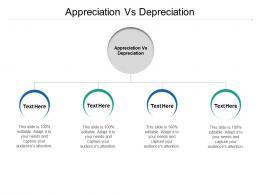 Appreciation Vs Depreciation Ppt Powerpoint Presentation Model Vector Cpb