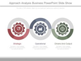 Approach Analysis Business Powerpoint Slide Show