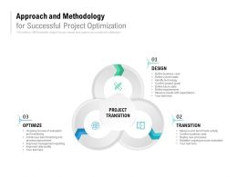 Approach And Methodology For Successful Project Optimization