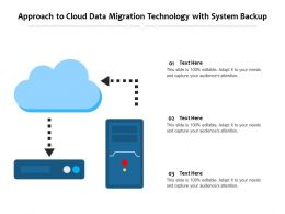 Approach To Cloud Data Migration Technology With System Backup