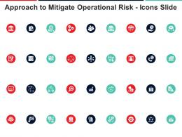 Approach To Mitigate Operational Risk Icons Slide Ppt Graphics
