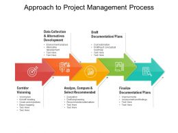 Approach To Project Management Process