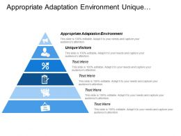Appropriate Adaptation Environment Unique Visitors Audience Share Competitors