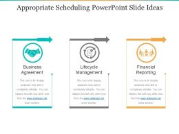 Appropriate Scheduling Powerpoint Slide Ideas