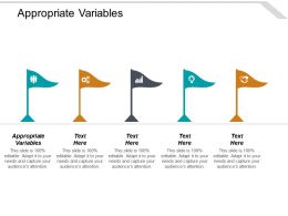 Appropriate Variables Ppt Powerpoint Presentation Slides Example Cpb