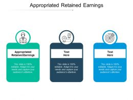 Appropriated Retained Earnings Ppt Powerpoint Presentation Icon Format Cpb