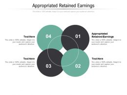 Appropriated Retained Earnings Ppt Powerpoint Presentation Professional Designs Cpb