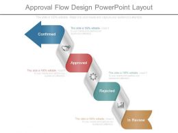 Approval Flow Design Powerpoint Layout