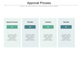 Approval Process Ppt Powerpoint Presentation Professional Tips Cpb