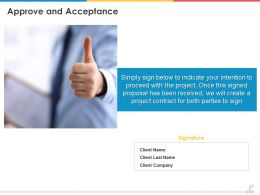 Approve And Acceptance Ppt Powerpoint Presentation Styles Background Image
