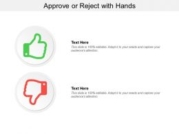Approve Or Reject With Hands