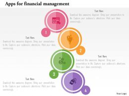 Apps For Financial Management Flat Powerpoint Design