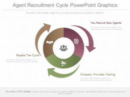 Apt Agent Recruitment Cycle Powerpoint Graphics